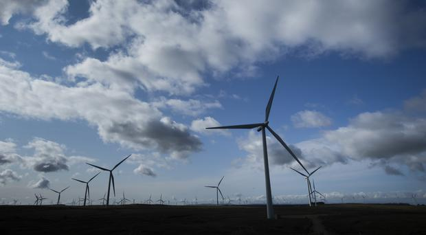A Government survey has found 79% of people support onshore wind (Danny Lawson/PA)
