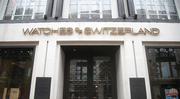 Watches Of Switzerland has revealed a solid set of Q1 results (PA)