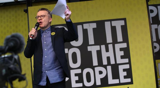 Deputy leader of the Labour Party Tom Watson (Yui Mok/PA)