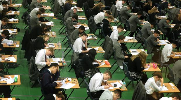 Grade boundaries for A-levels offered by the Edexcel exam board have been leaked ahead of results day (Gareth Fuller/PA)