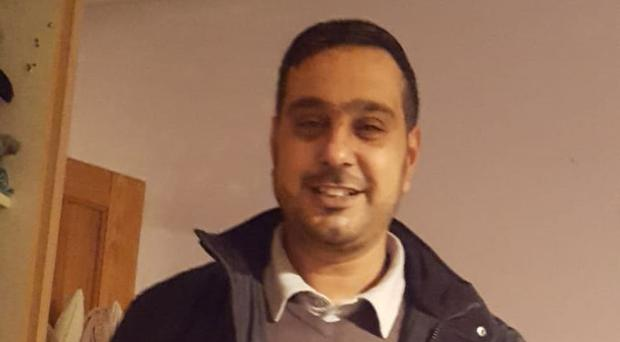 Sajed Choudry was attacked in Blackburn in November 2018 (Lancashire Police/PA)