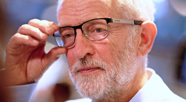 Jeremy Corbyn outlined his plan in a letter to Westminster's opposition leaders (Nigel Roddis/PA)