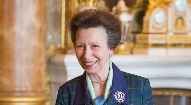 The Princess Royal is celebrating her 69th birthday (Dominic Lipinski/PA)