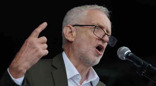 Labour leader Jeremy Corbyn said he would advise against a second independence referendum (Owen Humphreys/PA)