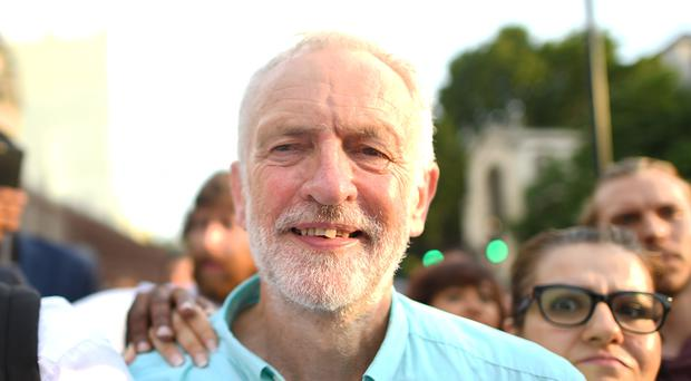 The Labour leader proposed being a caretaker PM (Victoria Jones/PA)