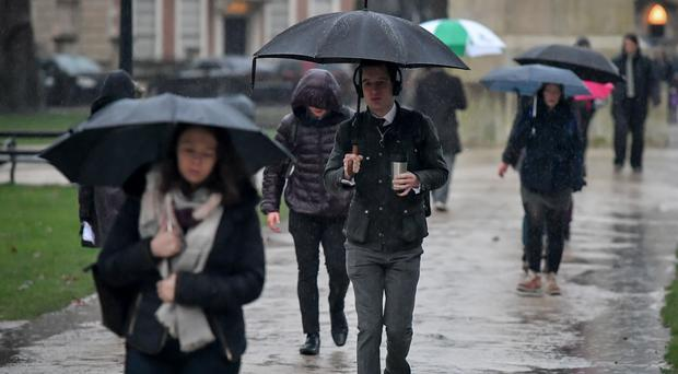 Rain has been forecast for Friday (Ben Birchall/PA)