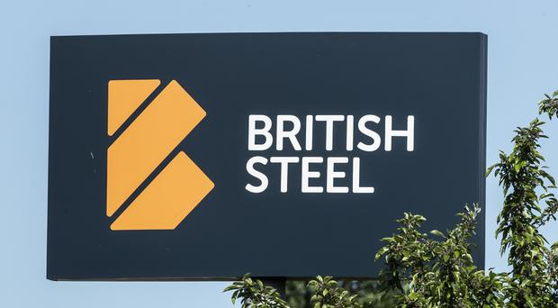 The British Steel site in Scunthorpe, as the investment division of Turkey's armed forces pension fund became the preferred bidder for the company (PA)