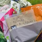 Messages on floral tributes at the scene, where Thames Valley Police officer Pc Andrew Harper died (Ben Birchall/PA)