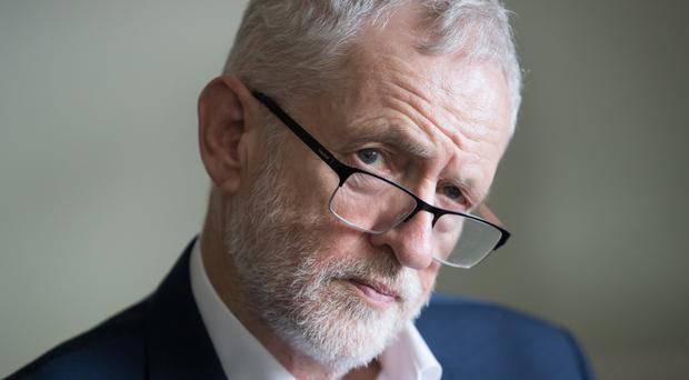 Jeremy Corbyn's plan has won the potential backing of the SNP, Plaid Cymru and Tory MP Guto Bebb (Aaron Chown/PA)