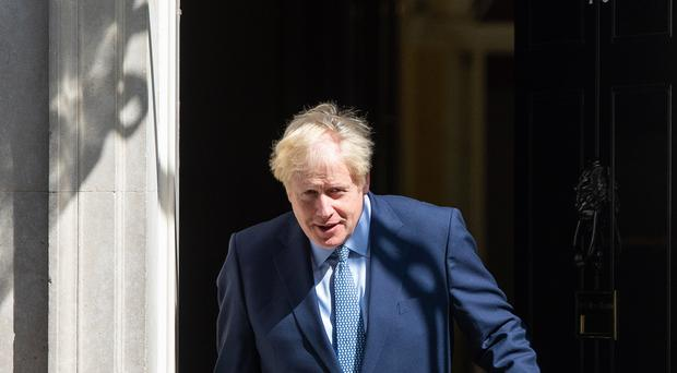Boris Johnson has reiterated his commitment to taking Britain out of the EU on October 31 (Dominic Lipinski/PA)