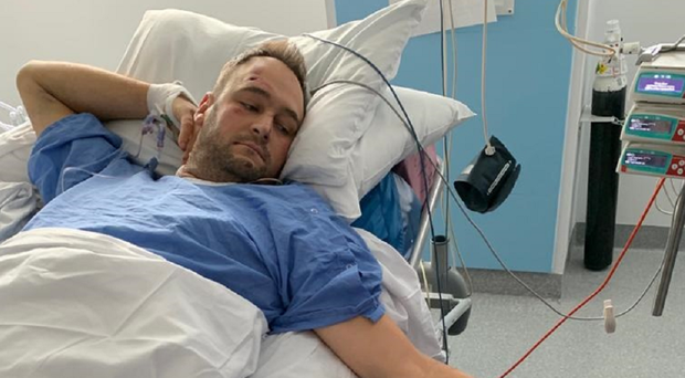 Pc Gareth Phillips could be in hospital for several months, police said (West Midlands Police/PA)