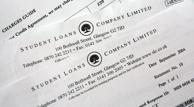 Statements from the Student Loans Company (Johnny Green/PA)