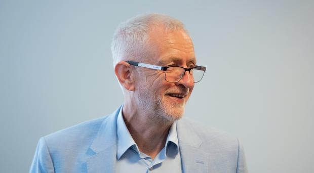 Labour leader Jeremy Corbyn has called a meeting to try to stop a no-deal Brexit (Joe Giddens/PA)