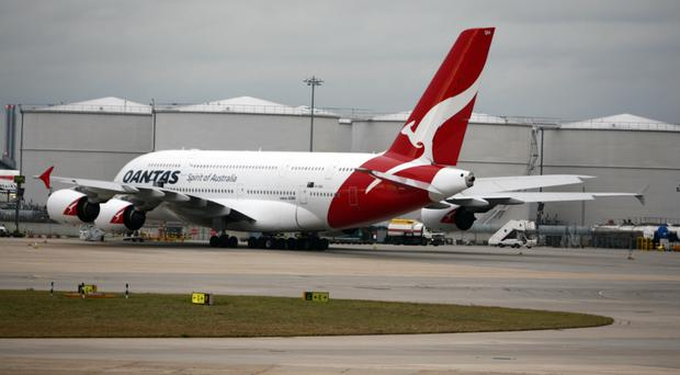Qantas will conduct research flights from London and New York to Sydney (Steve Parsons/PA)