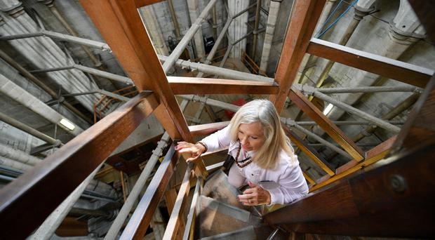 Tower Tour guide Ruth Desborough (Ben Birchall/PA)