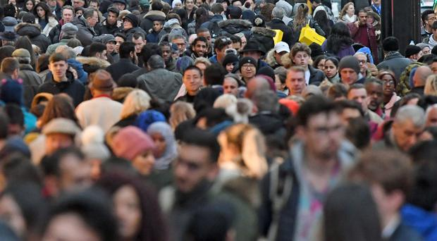In the year ending March 2019, EU immigration was estimated to be 200,000 (PA)