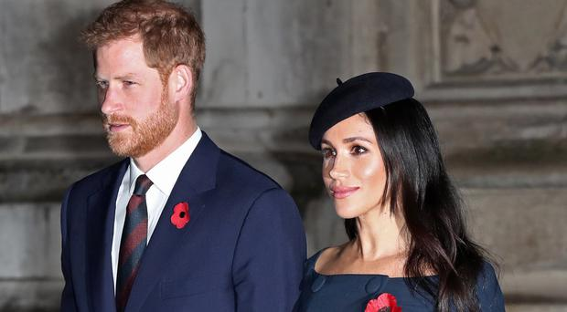 The Duke and Duchess of Sussex have set up their own charitable foundation (Gareth Fuller/PA)