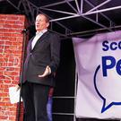Alastair Campbell speaking at a People's Vote rally in Edinburgh (Tom Eden/PA)