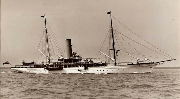 HMY Iolaire prior to it going into service at the Stornoway Naval Base (Lewis Museum Trust/PA)