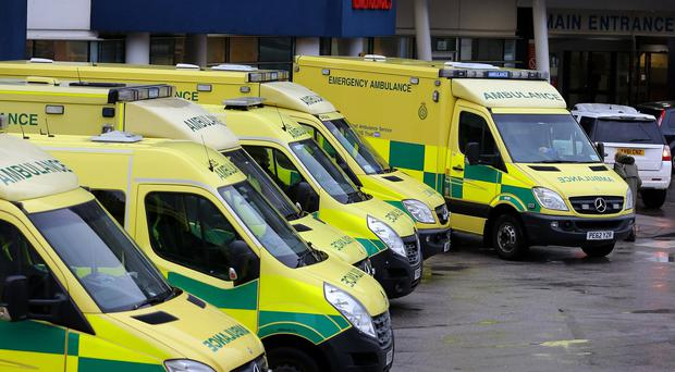 Some NHS trusts are spending more on private ambulances and increasingly rely on them for 999 work (PA)