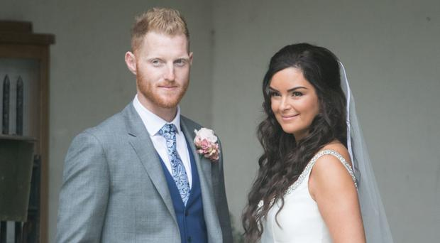England all-rounder Ben Stokes has paid tribute to his wife Clare Ratcliffe (Steve Parsons/PA)