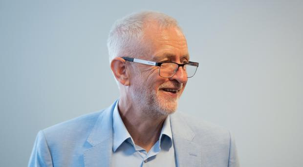 Labour leader Jeremy Corbyn is leading talks aimed at blocking a no-deal Brexit (Joe Giddens/PA)