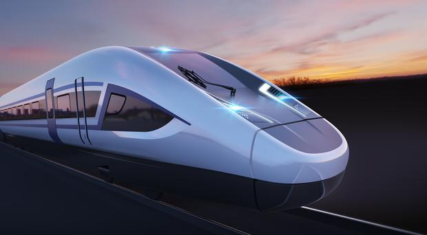 A review into HS2 was launched last week (Siemens/PA)