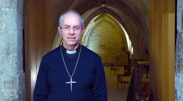 Justin Welby (BBC/PA)