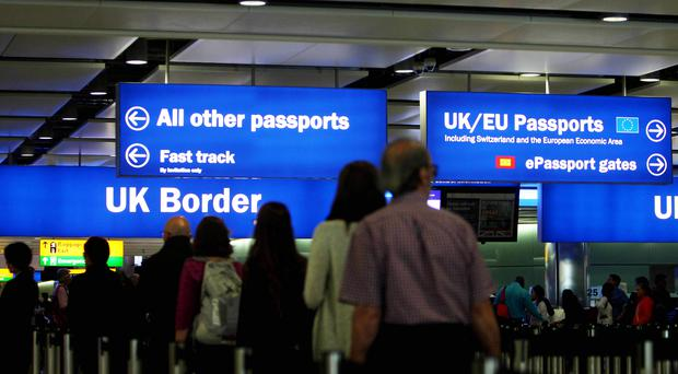 The advert told potential applicants that 'all you need is your passport or ID card' (PA)