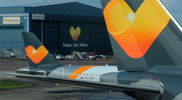 Thomas Cook has agreed the key terms to a rescue deal with Chinese firm Fosun, lenders and bondholders (PA)