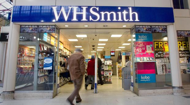 WHSmith revealed sales and profits are in line with expectations, with hospitals particularly popular (Philip Toscano/PA)