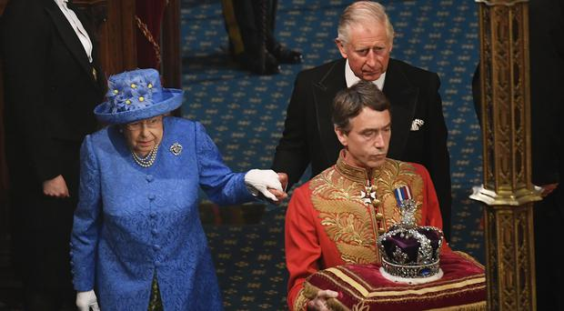 The Queen at the State Opening of Parliament (PA)