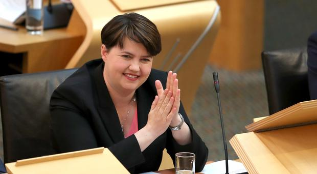 Scottish Conservatives will have to find a successor to Ruth Davidson (Jane Barlow/PA)