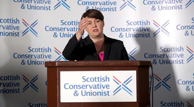 Ruth Davidson has quit as Scottish Conservative leader (PA)