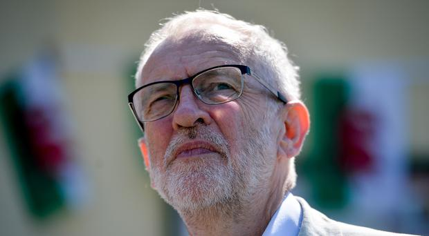 Leader of the Labour Party Jeremy Corbyn (Jacob King/PA)