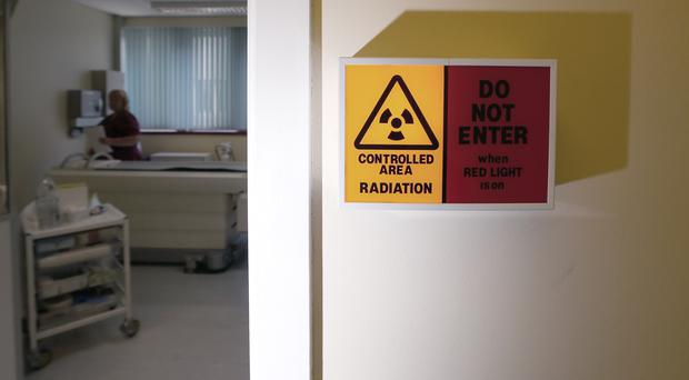 Around 5% of the NHS cancer budget goes towards radiotherapy (Lynne Cameron/PA)