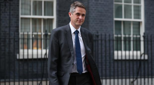 Education Secretary Gavin Williamson has spoken about the relationships teaching issue which sparked protests at school gates (Jonathan Brady/PA)