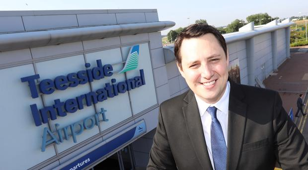 Tees Valley's elected mayor Ben Houchen, who has called Cleveland Police 'a basket case' (Teesside International AIrport/PA)