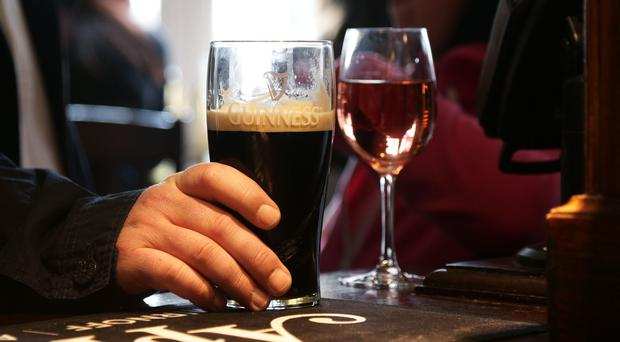 YouGov found that less than half of middle aged drinkers have tried cutting back (Yui Mok/PA)