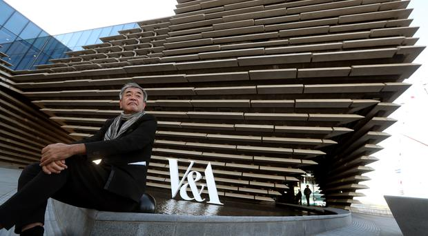 Architect Kengo Kuma will return to VandA Dundee to give a talk on its first anniversary (Andrew Milligan/PA)