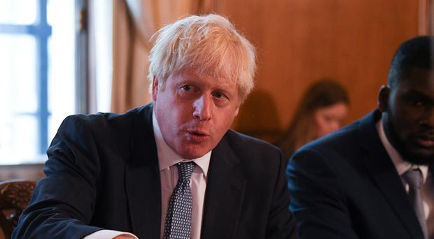 Boris Johnson is facing a backlash from MPs opposed to a no-deal Brexit (Daniel Leal-Olivas/PA)