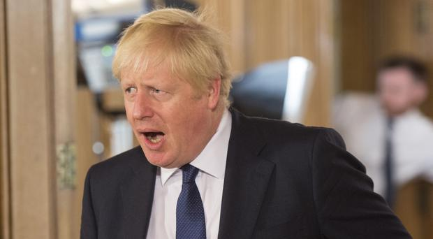 Boris Johnson has threatened to remove the Tory whip from rebel MPs within his party (Jeremy Selwyn/Evening Standard)