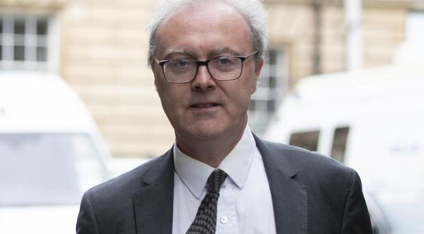 Lord Advocate James Wolffe arriving at the Court of Session in Edinburgh (Jane Barlow/PA)