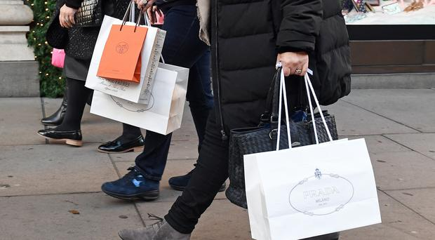 Shoppers are continuing to wait to see how Brexit plays out, data shows (Victoria Jones / PA)