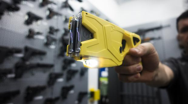 A survey of nearly 7,000 police officers has shown more than 80% want to carry stun guns like Tasers (Durham Police/PA)