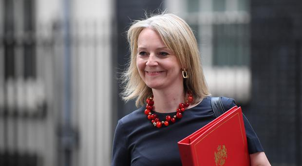International Trade Secretary Liz Truss (Victoria Jones/PA)