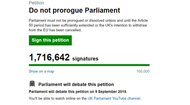 The Government petition (PA)