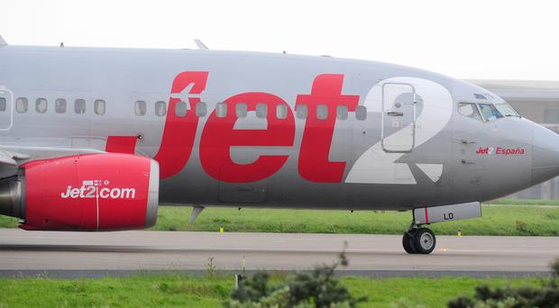 Airline Jet2 has announced 26 additional flights to the Canary Islands from Belfast International from next year. (Anna Gowthorpe/PA)