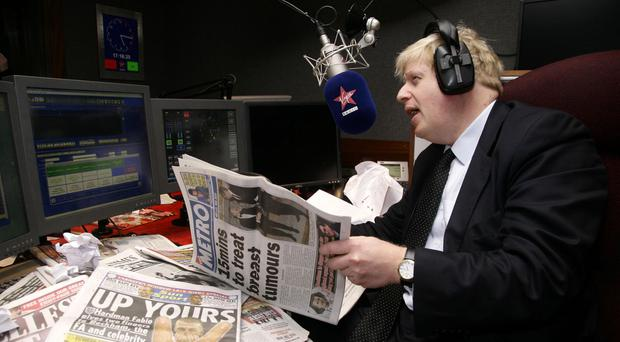 Boris Johnson is all the talk of the papers (Yui Mok/PA)