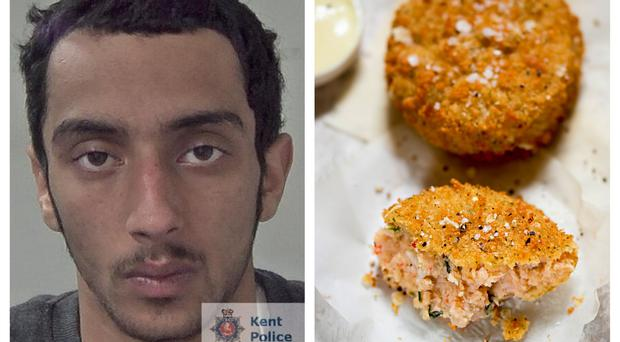 Jan Gina was caught after snacking on a fishcake and leaving his DNA at the scene (Kent Police/Bartosz Luczak/Getty)